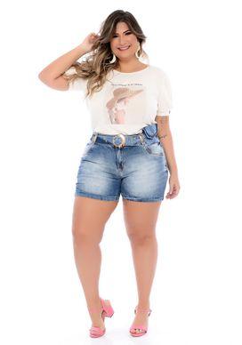 Blusa Branca Plus Size Adanna