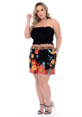 Shorts-Crepe-Plus-Size-Veera-46-48