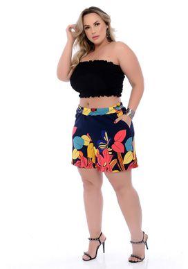 Shorts-Crepe-Plus-Size-Linnet-46-48