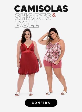 Camisolas e Shorts Doll