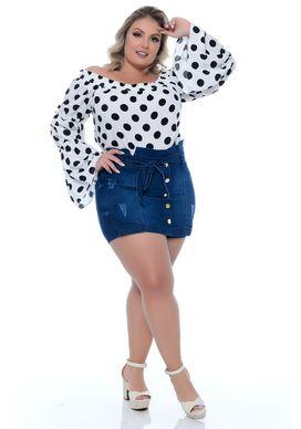 Shorts-Saia-Jeans-Plus-Size-Maiomy