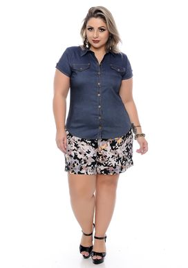 Shorts-Plus-Size-Kaline-