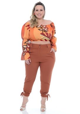 Top Ciganinha Plus Size Erma