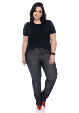 T-Shirt-Plus-Size-Basic-Black-4