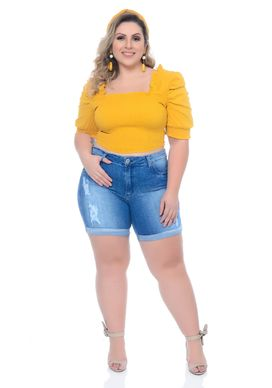 Cropped-Plus-Size-Uana