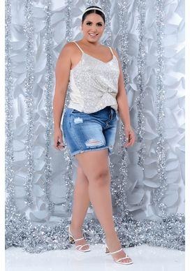 Shorts Jeans Plus Size Adriele