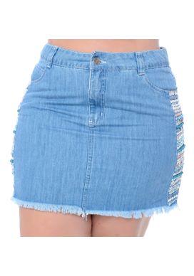 Saia Jeans Plus Size Sallie