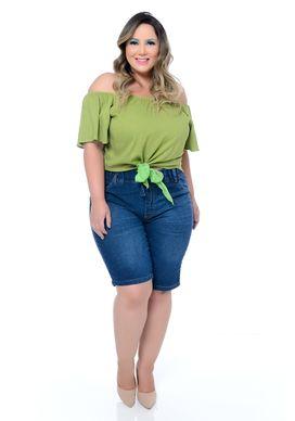 Bermuda Jeans Plus Size Lyzzis