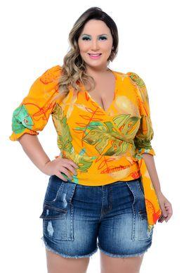 Blusa Plus Size Hattie