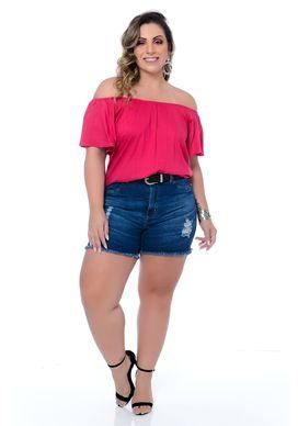 Blusa Ciganinha Plus Size Vitty