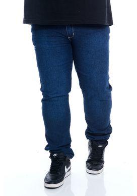 Calca-Jeans-Delave-Azul-Escuro-Masculina-Plus-Size-