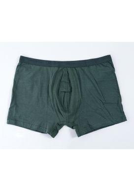 Cueca-Boxer-Cotton-Verde-Militar-Masculina-Plus-Size